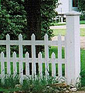 Palisade made to specific specifications